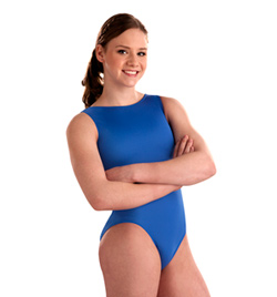 Child Basic Nylon Spandex Leotard - Style No 2012C