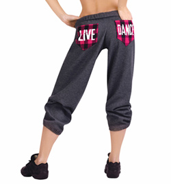 """LIVE, DANCE"" Sweat Pant - Style No 20211"