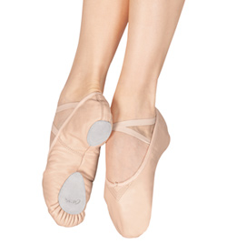 "Adult ""Cobra"" Leather Split-Sole Ballet Slipper - Style No 2033"
