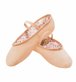 "Adult ""Daisy"" Leather Full Sole Ballet Slipper - Style No 205"