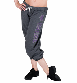 """LOVE DANCE"" Rhinestone Sweatpants - Style No 24580x"