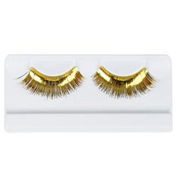 Gold Stage Eyelashes - Style No 2483B