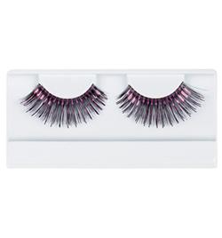 Black & Hot Pink Stage Eyelashes - Style No 2483F