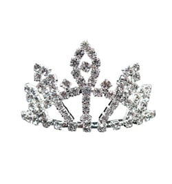 Small Rhinestone Tiara - Style No 2726