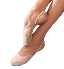 Leather Demi-Slipper Lyrical Shoe - Style No 3051L