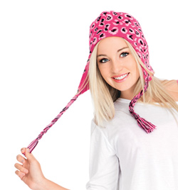 Adult Knit Hat with Ear Flaps - Style No 33757650