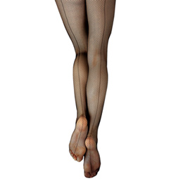 Child Studio Basics Back Seam Fishnet Tight - Style No 3408C