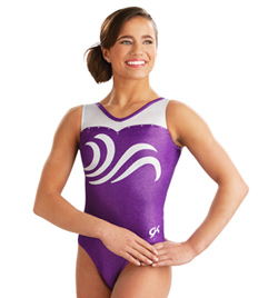 Adult Swirled Sweetheart Tank Leotard - Style No 3656
