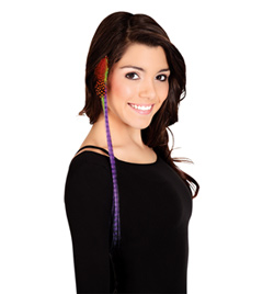 Feather Clip In Hair Extensions - Style No 4128x
