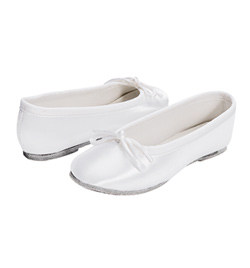 Girls Full Sole Satin Ballet Flat - Style No 435