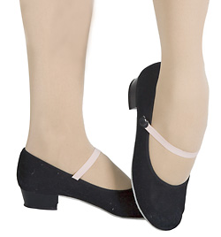 "Child ""Academy"" 1 ½"" Heel Canvas Character Shoe - Style No 457C"