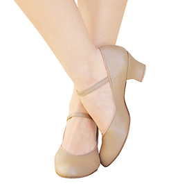 "Adult Suede Sole ""Jr. Footlight"" 1 �"" Heel Character Shoe - Style No 459"