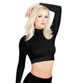 Adult Long Sleeve Crop Top - Style No 497