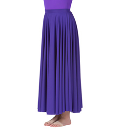 Adult Single Layer Worship Circle Skirt - Style No 501