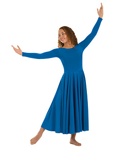 Long Sleeve Dance Dress - Style No 512XXX