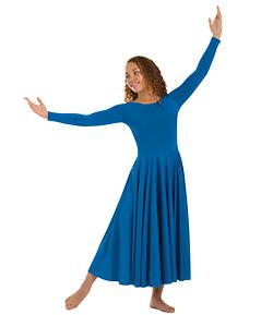 Long Sleeve Dance Dress - Style No 512xxx