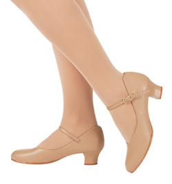 """Adult """"Jr. Footlight"""" 1.5"""" Heel Character Shoe - Style No 550"""