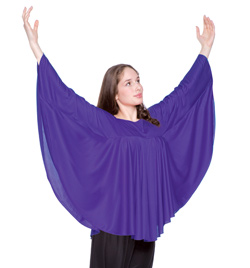 Worship Angel Wing Drapey Pullover - Style No 568