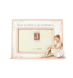 Sitting Ballerina Picture Frame - Style No 638260