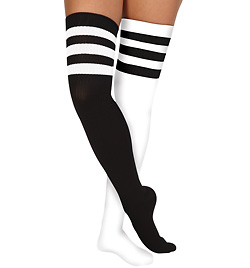 Athletic Stripe Socks - Style No 6605