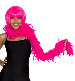 Pink Feather Boa  - Style No 7107