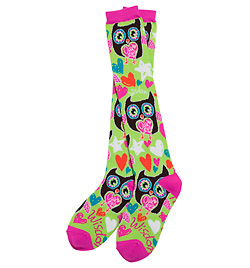 Set of 2 Fun & Funky Knee Socks - Style No 72016