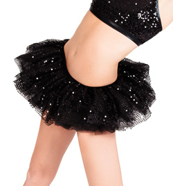 Sequin Tulle Tutu - Style No A1707