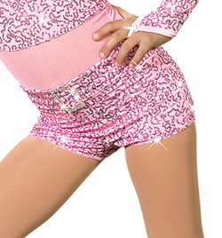 """Cotton Candy"" Costume Shorts - Style No AS1002C"