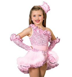 """Cotton Candy"" Costume Bustle - Style No AS1003C"