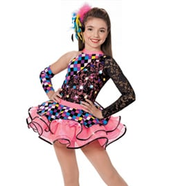"""Strike a Pose"" Girls Costume Set - Style No AS1004C"