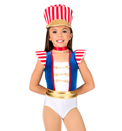"""""""Parade Costume"""" Adult Tank Leotard - Style No AS1007"""