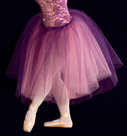 """Concerto"" Costume Girls Romantic Tutu - Style No AS1016C"