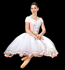 """Pretty"" Costume Girls Romantic Tutu - Style No AS1026C"