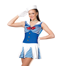 """Hey Sailor"" Adult Tank Dress - Style No AS1035"