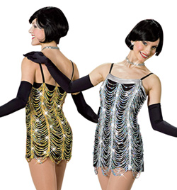"""""""One Night Only"""" Adult Camisole Dress - Style No AS1043"""