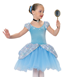 """Glass Slipper"" Girls Costume Set - Style No AS1086C"