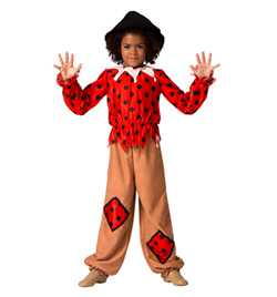 """""""Scarecrow"""" Girls Costume Set - Style No AS1091C"""