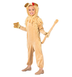 """Lion"" Girls Costume Set - Style No AS1092C"