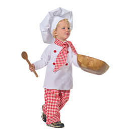 """Top Chef"" Girls Costume Set - Style No AS1105C"