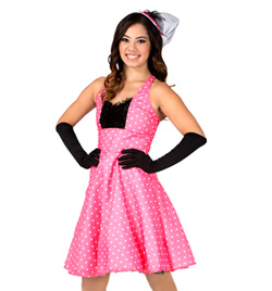 """Vivienne"" Girls Halter Dress - Style No AS1106C"