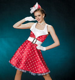 """Annette"" Girls Halter Dress - Style No AS1117C"