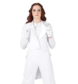 """Top Hat and Tails"" Costume Girls Jacket - Style No AS1129C"
