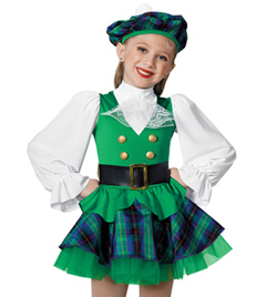 """Scottish Lass"" Girls Costume Set - Style No AS1133C"