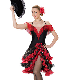 """Espa&#241a"" Adult Camisole Dress - Style No AS1138"