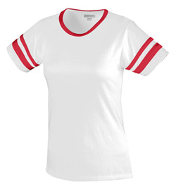 Plus Size Junior Short Sleeve Camp Tee - Style No AUG1275P