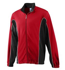 Adult Plus Size Color Block Jacket - Style No AUG4330P
