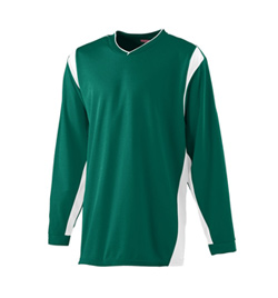 Youth Long Sleeve Warmup Shirt - Style No AUG4601