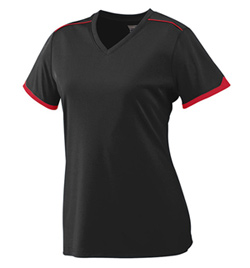 Ladies Plus Size Motion Short Sleeve Jersey - Style No AUG5045P