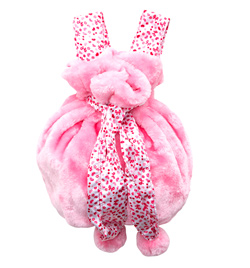 Kids Fluffy Convertible Bag - Style No B111C
