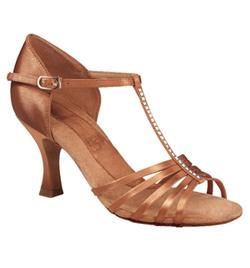 "Ladies ""Crystal Danielle"" 2"" Latin/Rhythm Ballroom Shoe - Style No br1871r"
